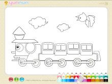 《儿童简笔画填色》Flash动画课件4