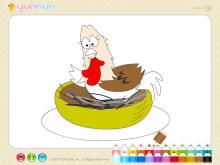 《儿童简笔画填色》Flash动画课件9