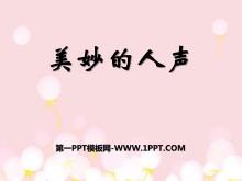 《美妙的人声》PPT课件