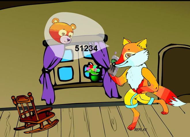 可爱松鼠动画ppt
