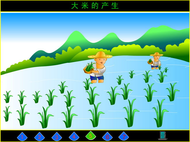 关键词:大米的产生教学动画课件,幼儿园科学flash动画课件下载,幼儿