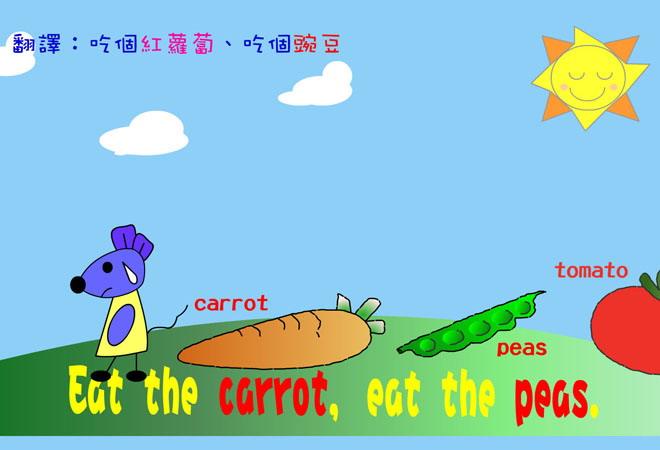 《蔬菜歌》Flash动画课件