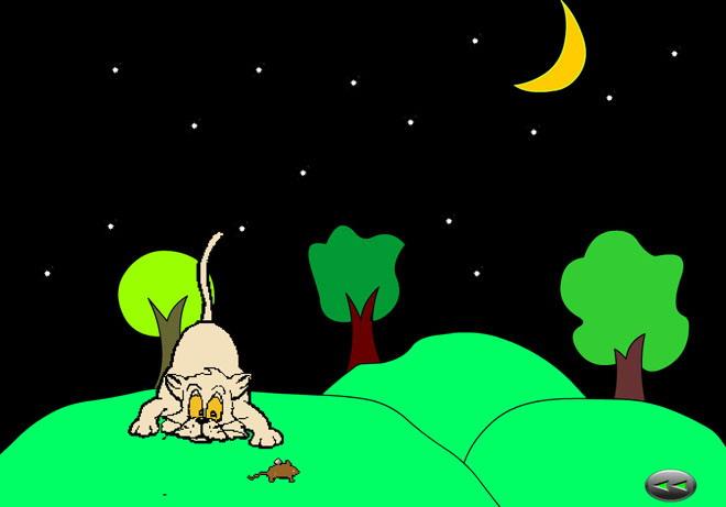《猫和老鼠》Flash动画课件 天黑了, 天黑了 老猫睡着了, 小老鼠出来了, 吱吱吱吱, 老鼠出来了。 天黑了,天黑了, 老猫睡着了, 小老鼠出来了, 吱吱吱吱, 老鼠出来了。 ... ... ... 关键词:猫和老鼠教学动画课件,幼儿园音乐Flash动画课件下载,幼儿园音乐Flash动画课件下载,猫和老鼠Flash动画课件下载,.