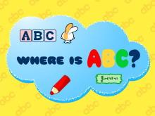 《找字母》Flash动画课件