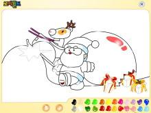 《圣诞二人组》Flash动画课件