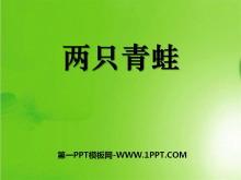《两只青蛙》PPT课件3