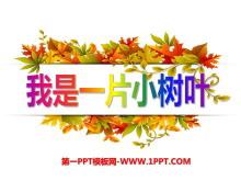 《我是一片小树叶》PPT课件3