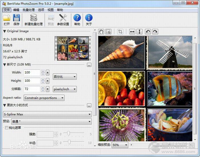 PPT制作辅助软件工具:PhotoZoom Pro