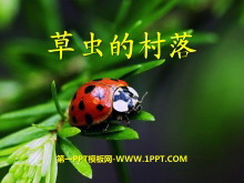 《草虫的村落》PPT课件下载8