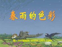 《春雨的色彩》PPT课件10