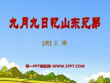 《九月九日忆山东兄弟》PPT课件5
