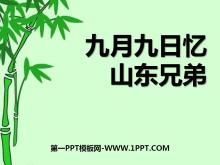 《九月九日忆山东兄弟》PPT课件6