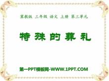 《特殊的葬礼》PPT课件3