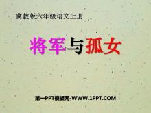 《将军与孤女》PPT课件