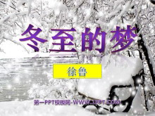 《冬至的梦》PPT课件2
