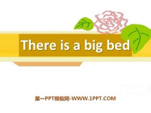 《There is a big bed》PPT课件17