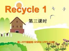 人教版PEP五年�英�Z上�浴�recycle1》PPT�n件4