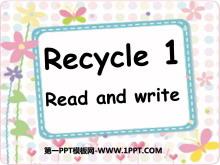 人教版PEP五年�英�Z上�浴�recycle1》PPT�n件6