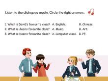 人教版PEP五年级英语上册《recycle1》Flash动画课件5