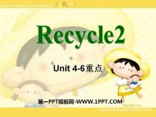 人教版PEP五年�英�Z上�浴�recycle2》PPT�n件