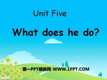 《What does he do?》PPT课件7
