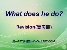 《What does he do?》PPT课件20