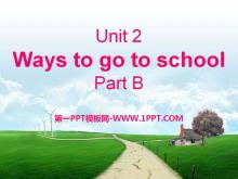 《Ways to go to school》PPT课件14