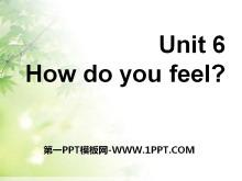 《How do you feel?》PPT课件21