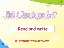 《How do you feel?》PPT课件24