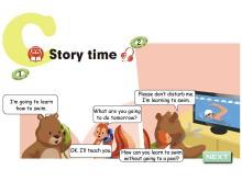 《My weekend plan》story time Flash动画课件