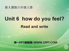《How do you feel?》PPT课件20
