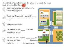人教版PEP六年级英语上册《Recycle1》Flash动画课件10