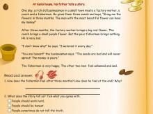 人教版PEP六年级英语上册《Recycle2》Flash动画课件7