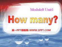 《How many?》PPT�n件3