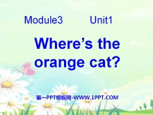 《Where's the orange cat?》PPT课件