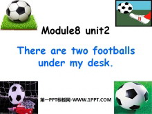 《There are two footballs under my desk》PPT�n件