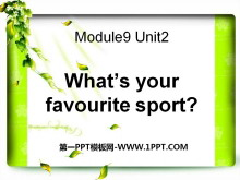 《What's your favourite sport?》PPT课件2