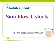 《Sam like T-shirts》PPT课件2