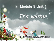 《It's winter》PPT课件