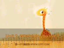 《Where do you live?》PPT课件3