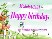 《Happy birthday!》PPT课件4