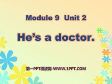《He's a doctor》PPT课件5