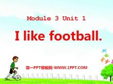 《I like football》PPT课件4
