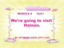 《We are going to visit Hainan》PPT课件3