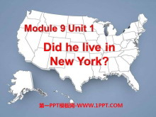《Did he live in New York》PPT�n件3