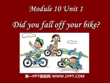《Did you fall off your bike?》PPT�n件2