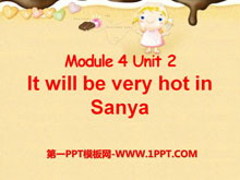 《It will be very hot in Sanya》PPT课件2
