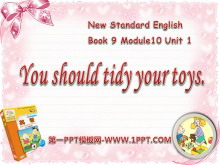 《You should tidy your toys》PPT课件3
