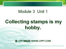 《Collecting stamps is my hobby》PPT�n件5