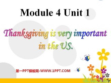 《Thanksgiving is very important in the US》PPT�n件2